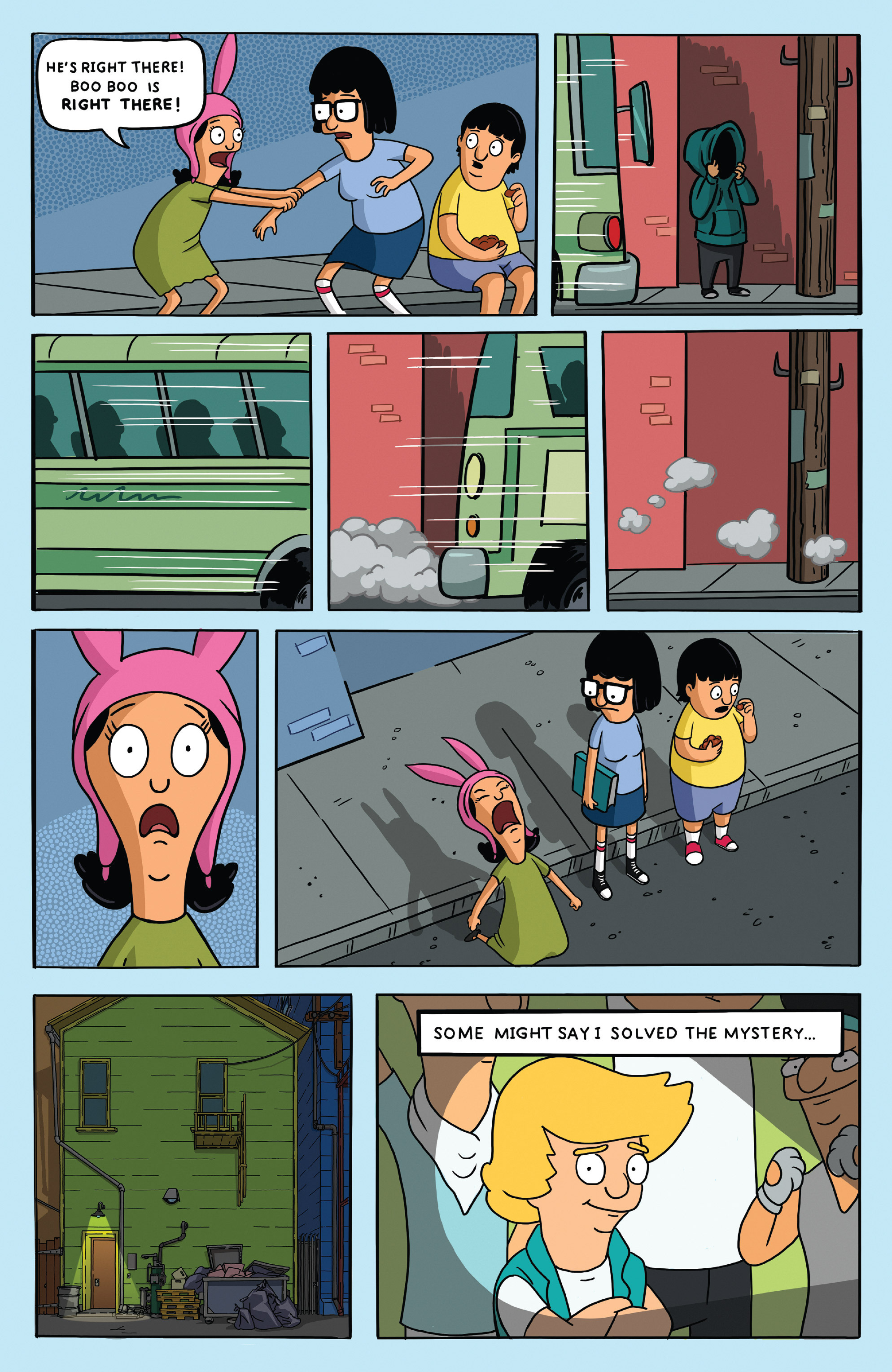 Read online Bob's Burgers (2014) comic -  Issue #5 - 16