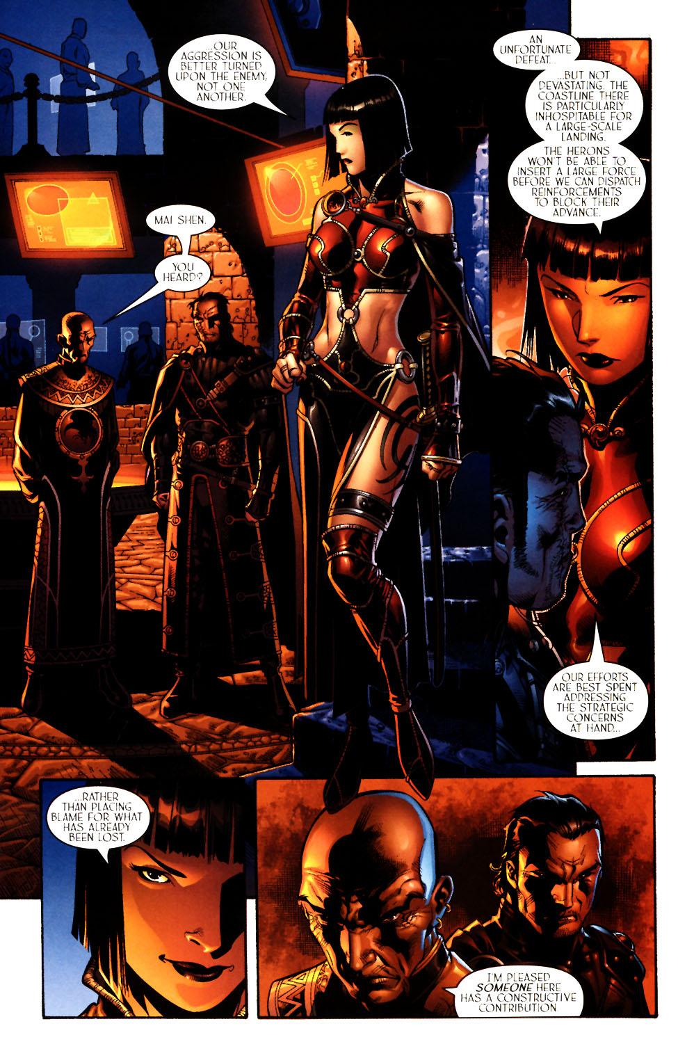 Read online Scion comic -  Issue #11 - 8