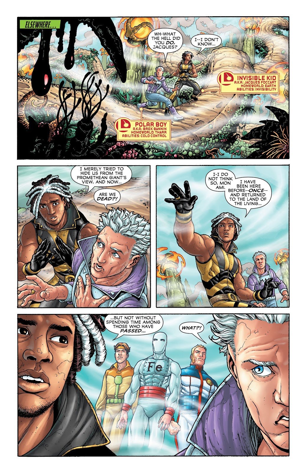 Legion of Super-Heroes (2011) Issue #20 #21 - English 6