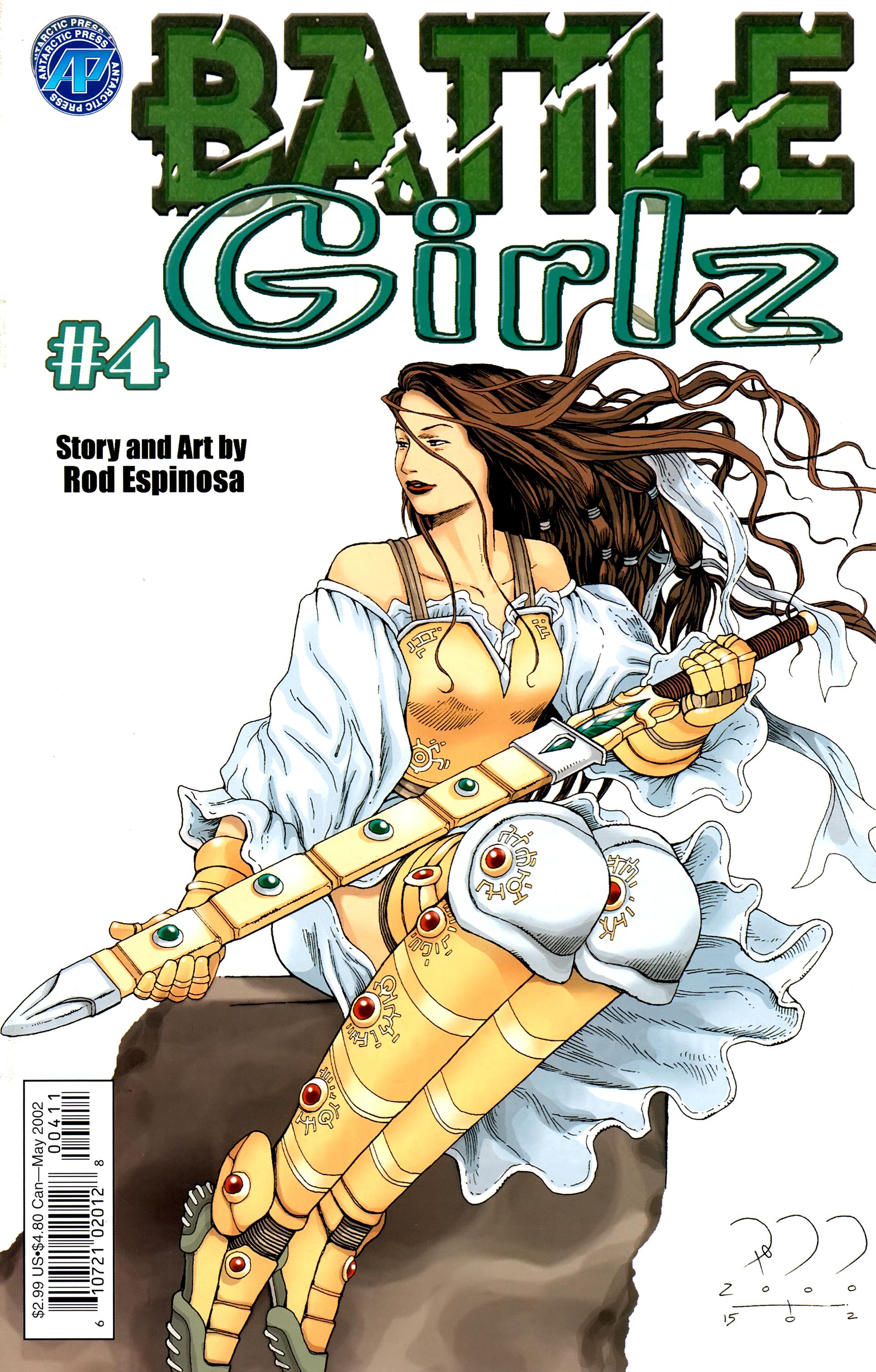 Battle Girlz 4 Page 1
