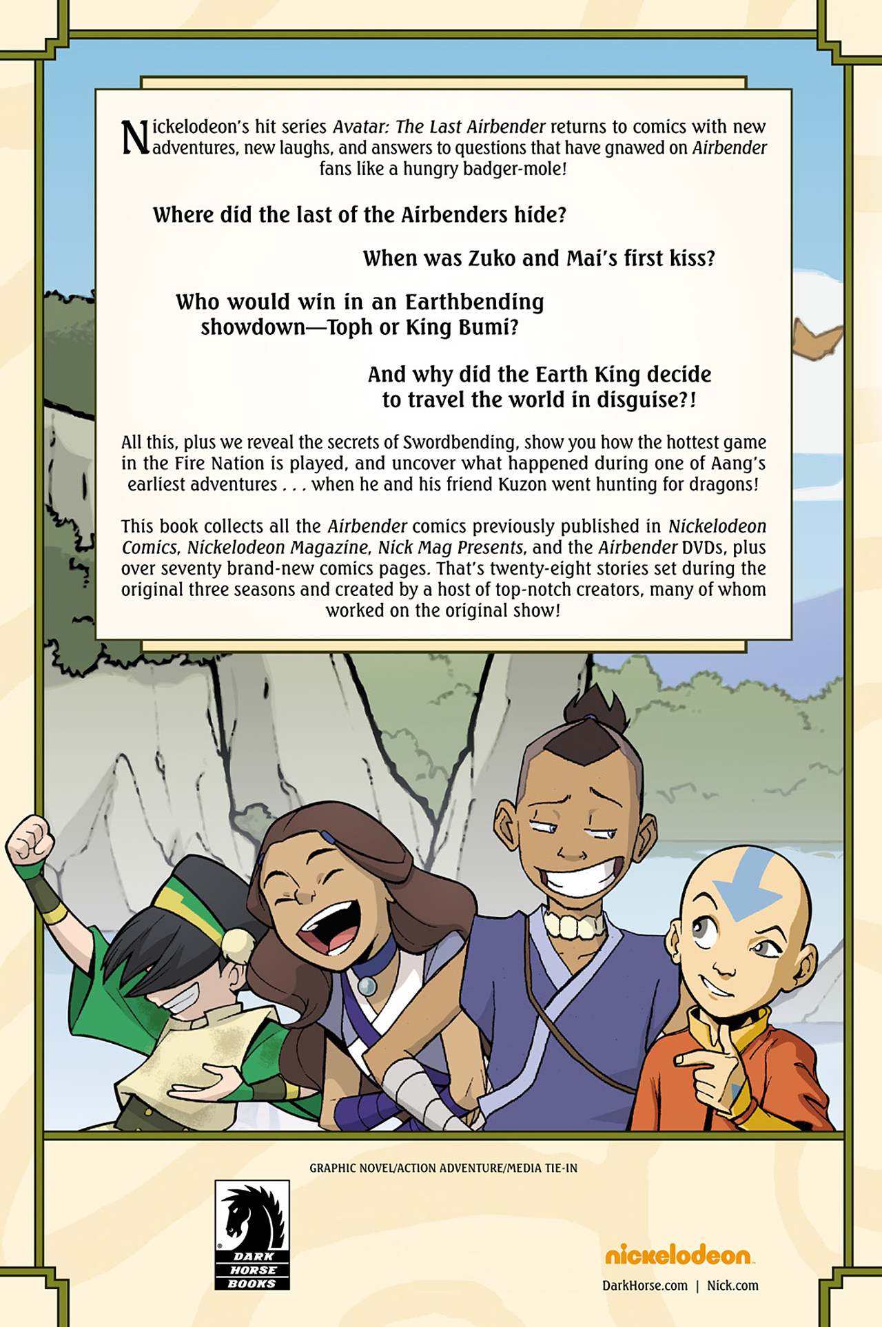 Nickelodeon Avatar: The Last Airbender - The Lost Adventures chap full pic 242