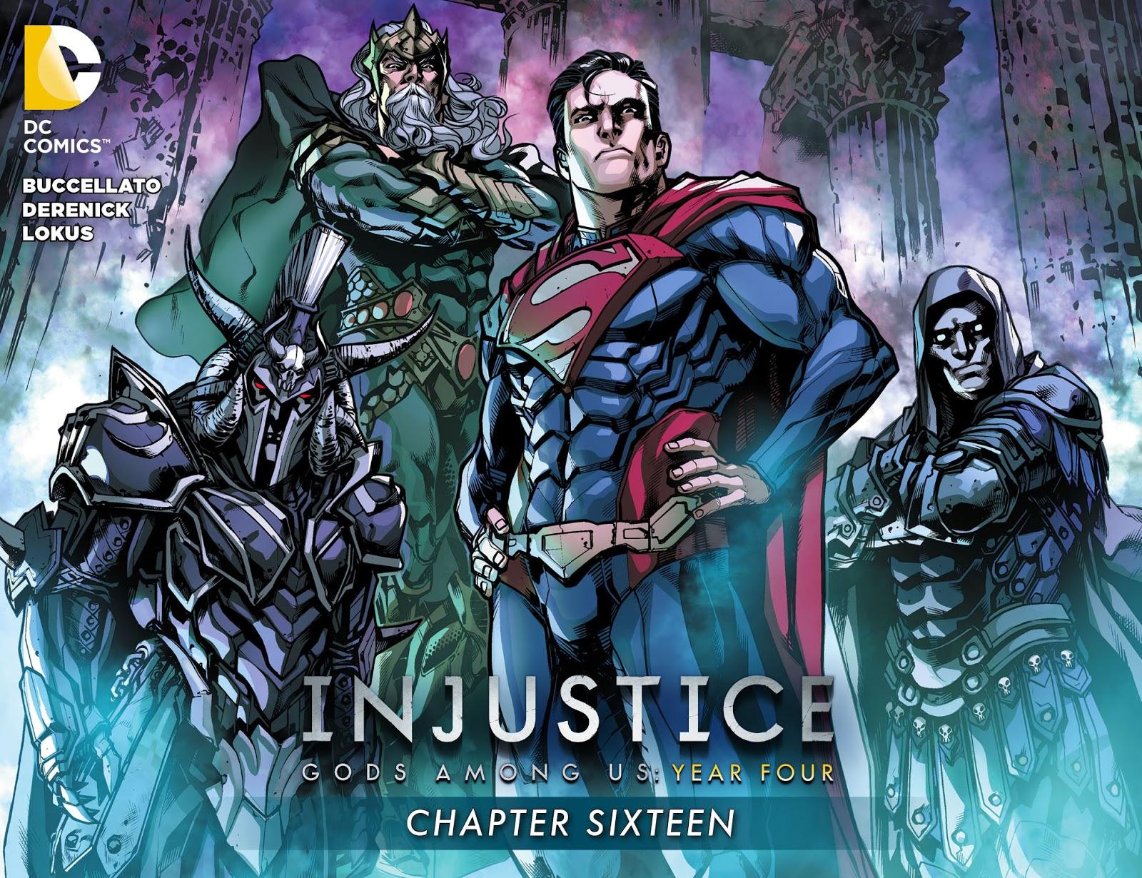 Injustice: Gods Among Us Year Four Issue #16 #17 - English 1