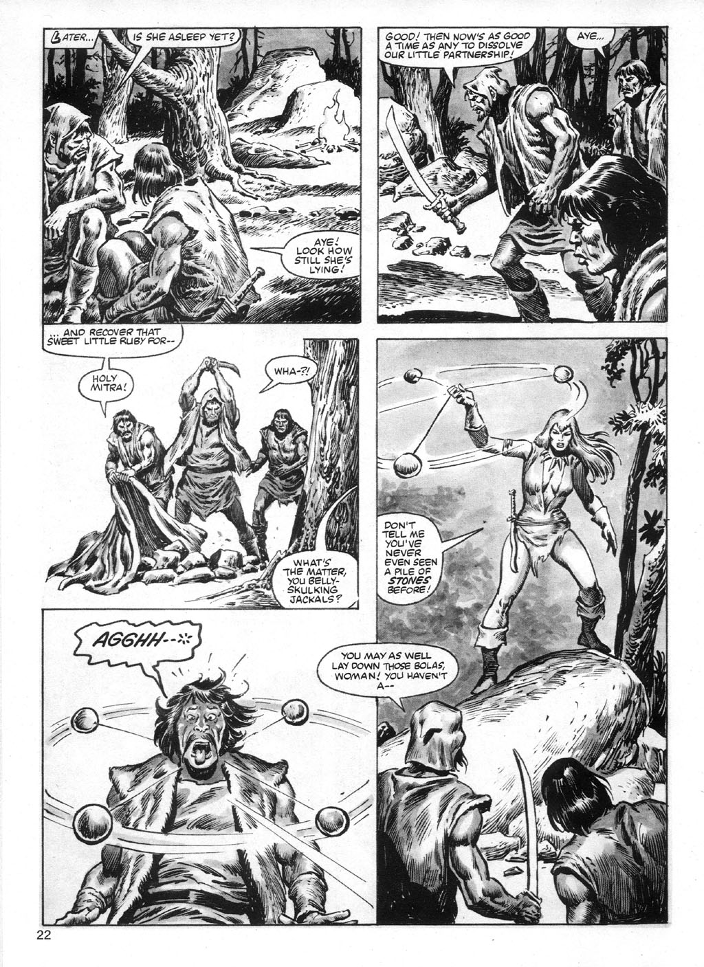 The Savage Sword Of Conan Issue #95 #96 - English 22