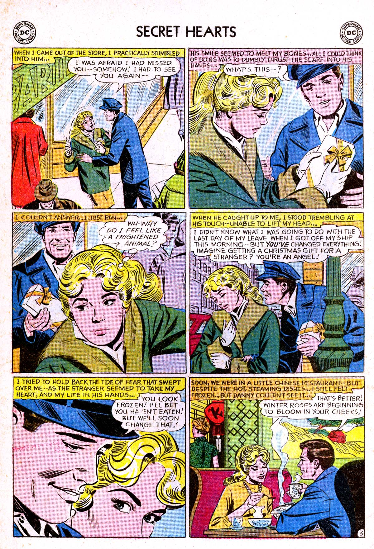 Read online Secret Hearts comic -  Issue #85 - 20
