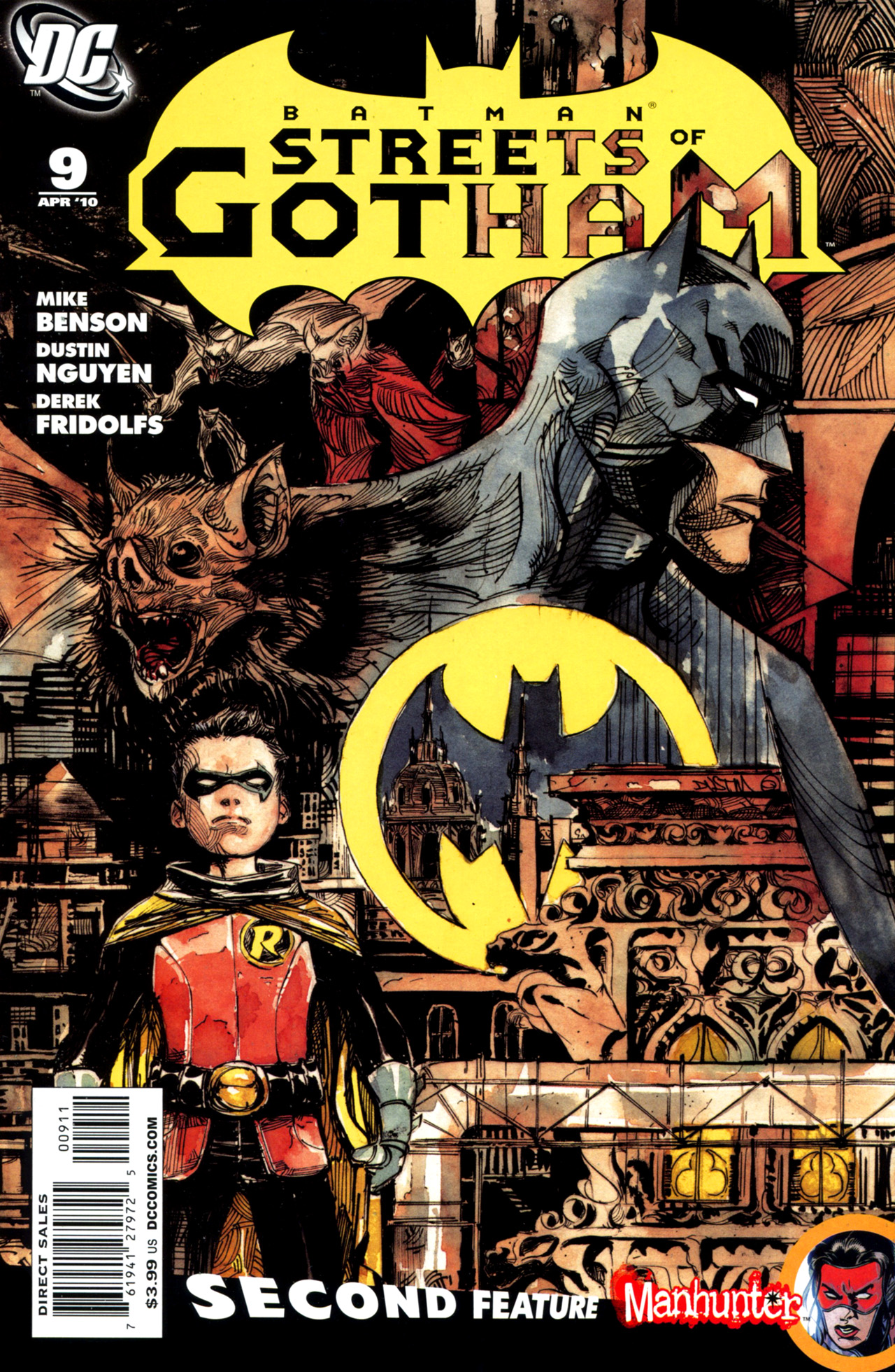 Batman: Streets Of Gotham  issue 9 - Page 1