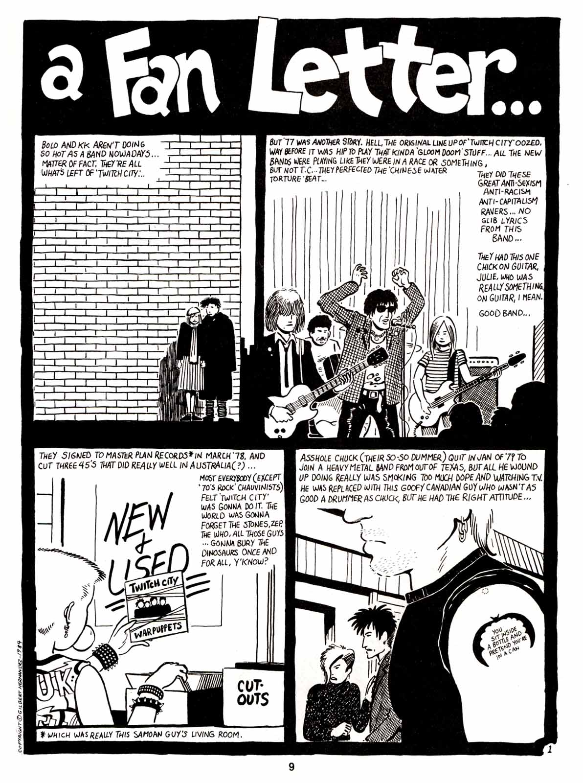 Love and Rockets (1982) Issue #5 #4 - English 11