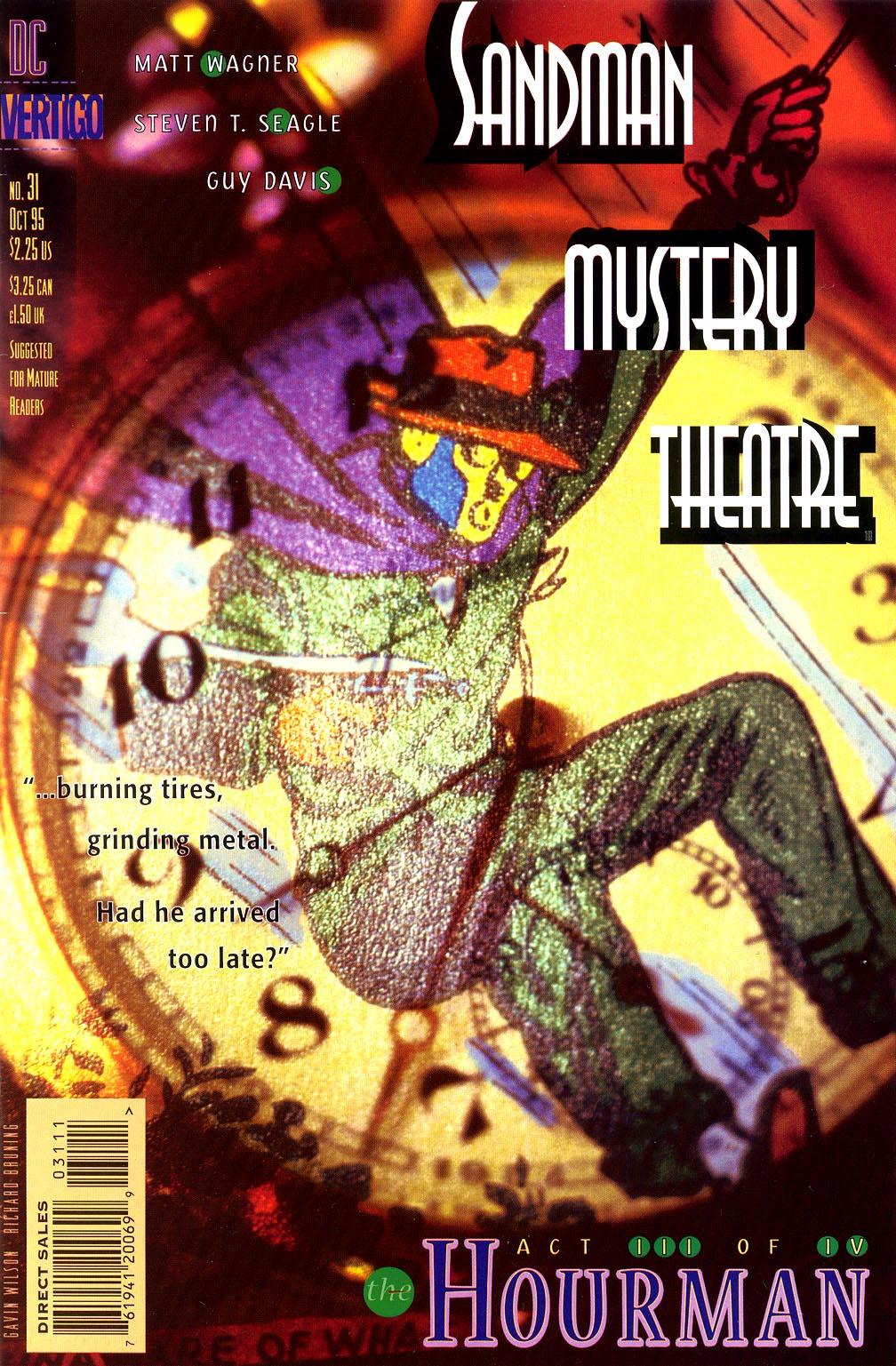 Sandman Mystery Theatre 31 Page 1
