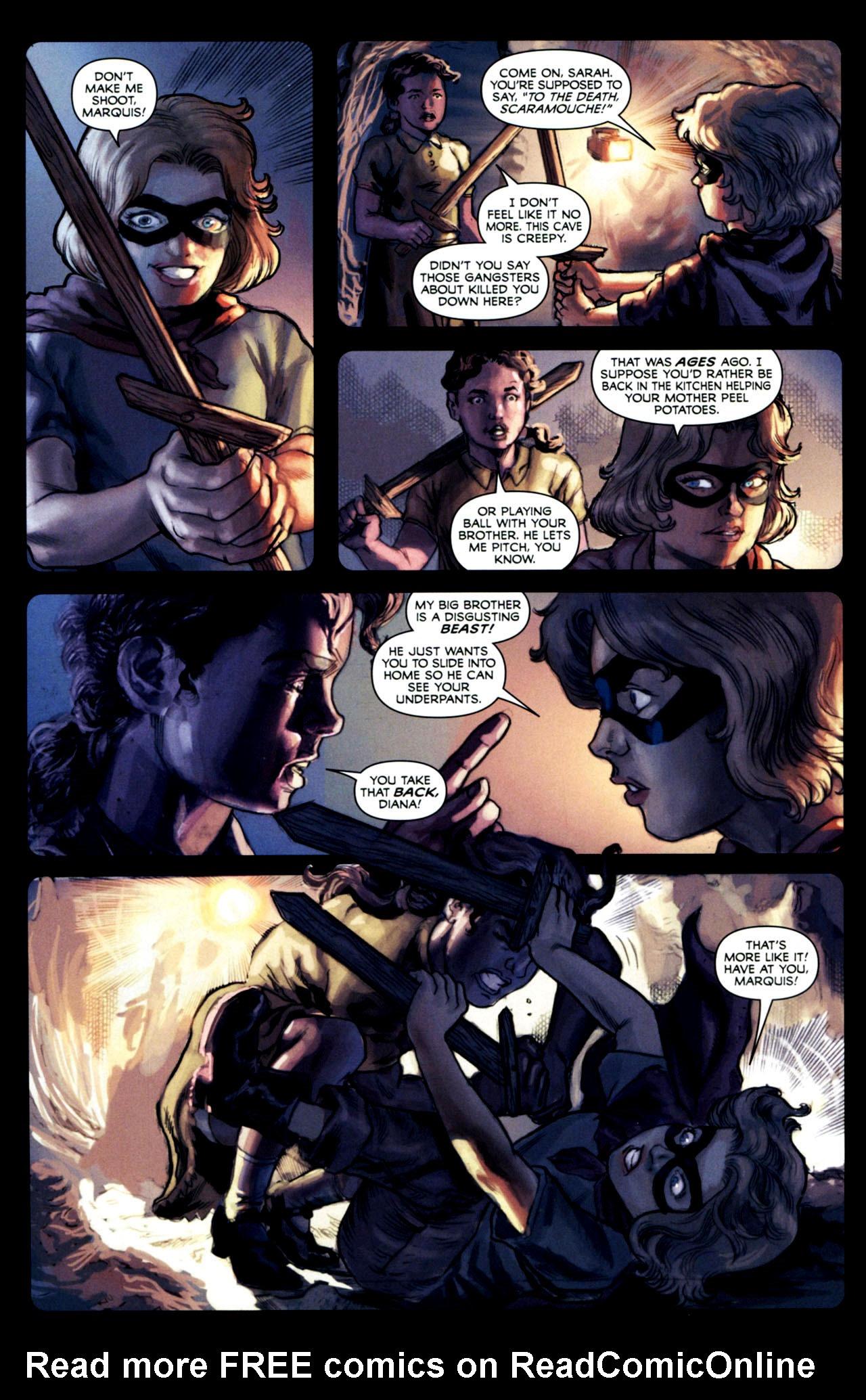 Read online Masquerade comic -  Issue #2 - 9