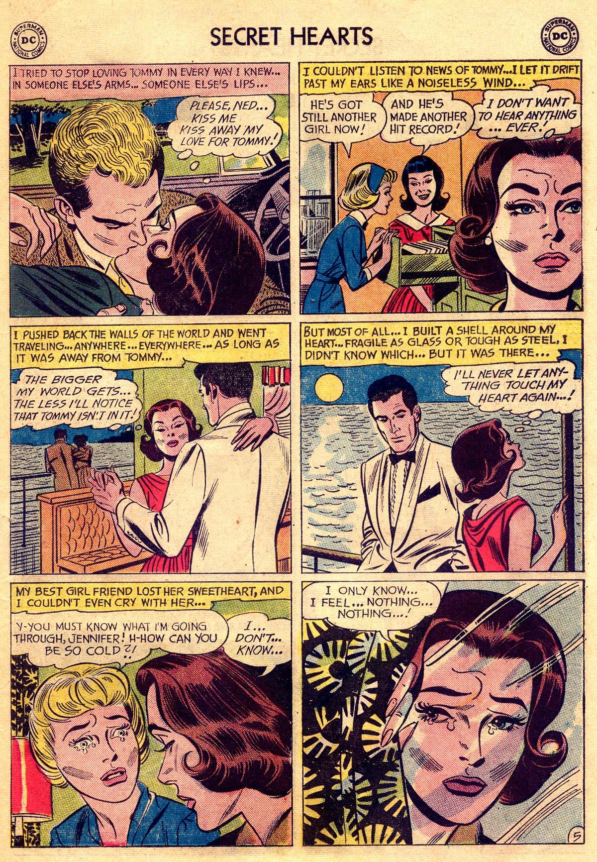 Read online Secret Hearts comic -  Issue #81 - 23