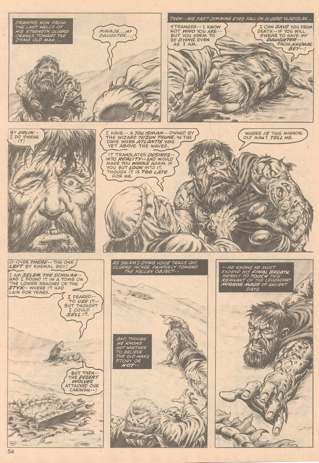 The Savage Sword Of Conan Issue #58 #59 - English 55
