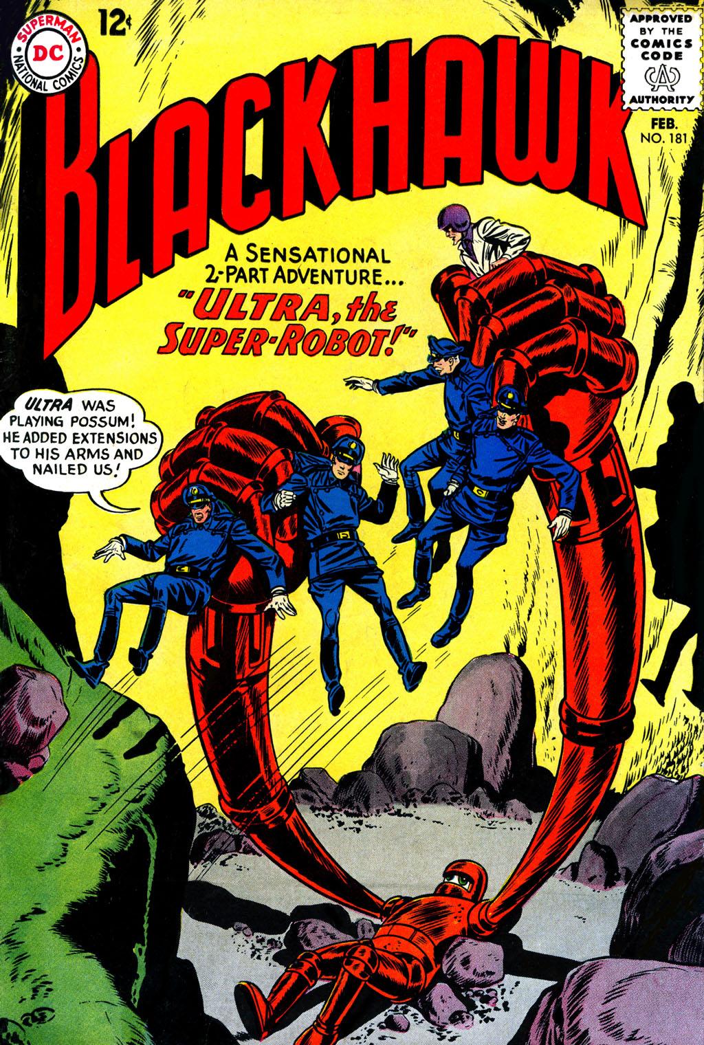 Blackhawk (1957) 181 Page 1