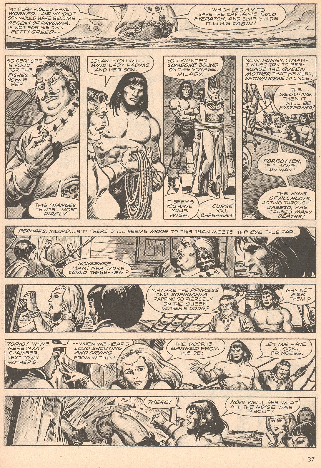 The Savage Sword Of Conan Issue #66 #67 - English 37