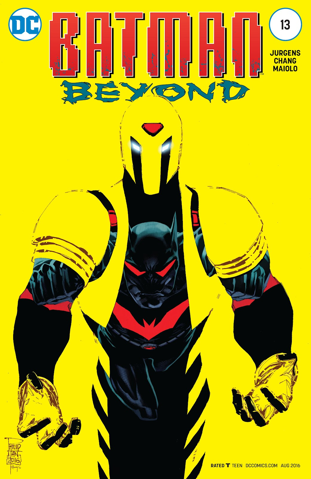Batman Beyond (2015) Issue #13 #13 - English 1