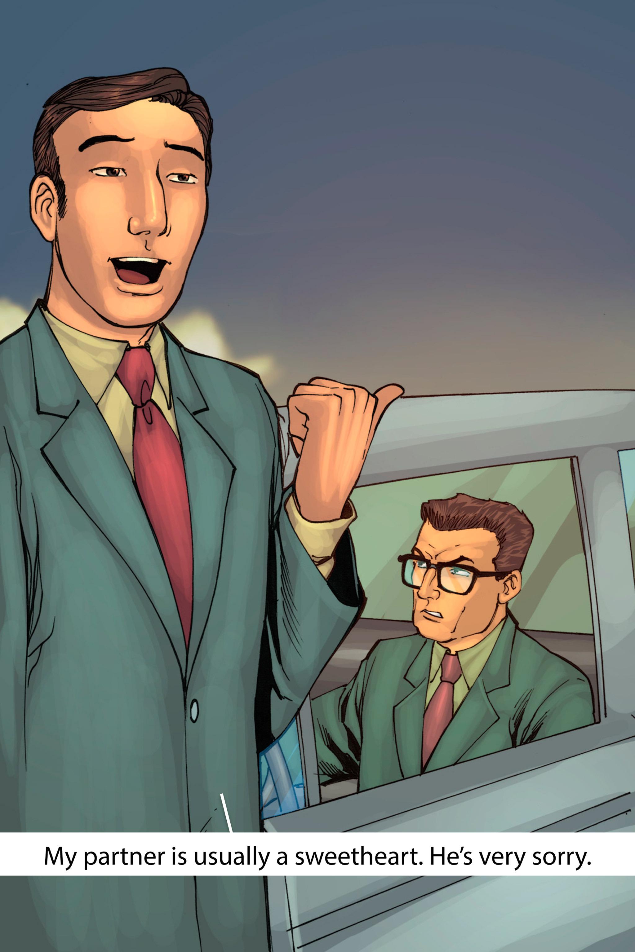 Read online Z-Men comic -  Issue #1 - 132