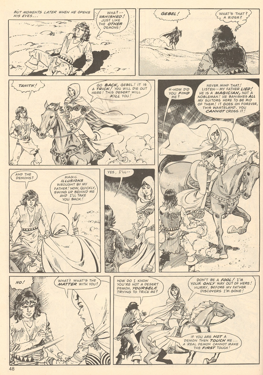 The Savage Sword Of Conan Issue #67 #68 - English 48