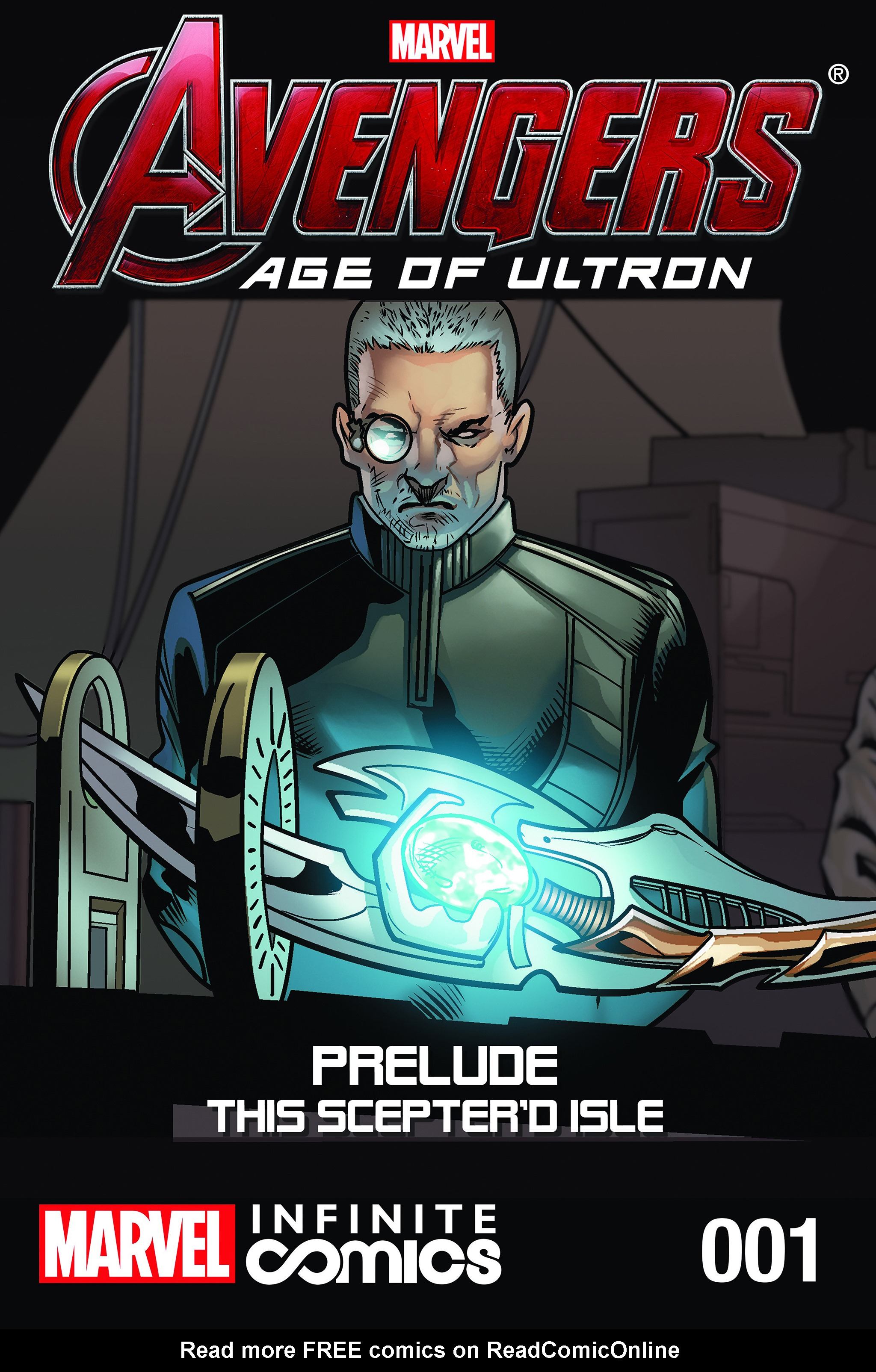 Read online Avengers: Age of Ultron Prelude - This Sceptre'd Isle Infinite Comic comic -  Issue # Full - 1
