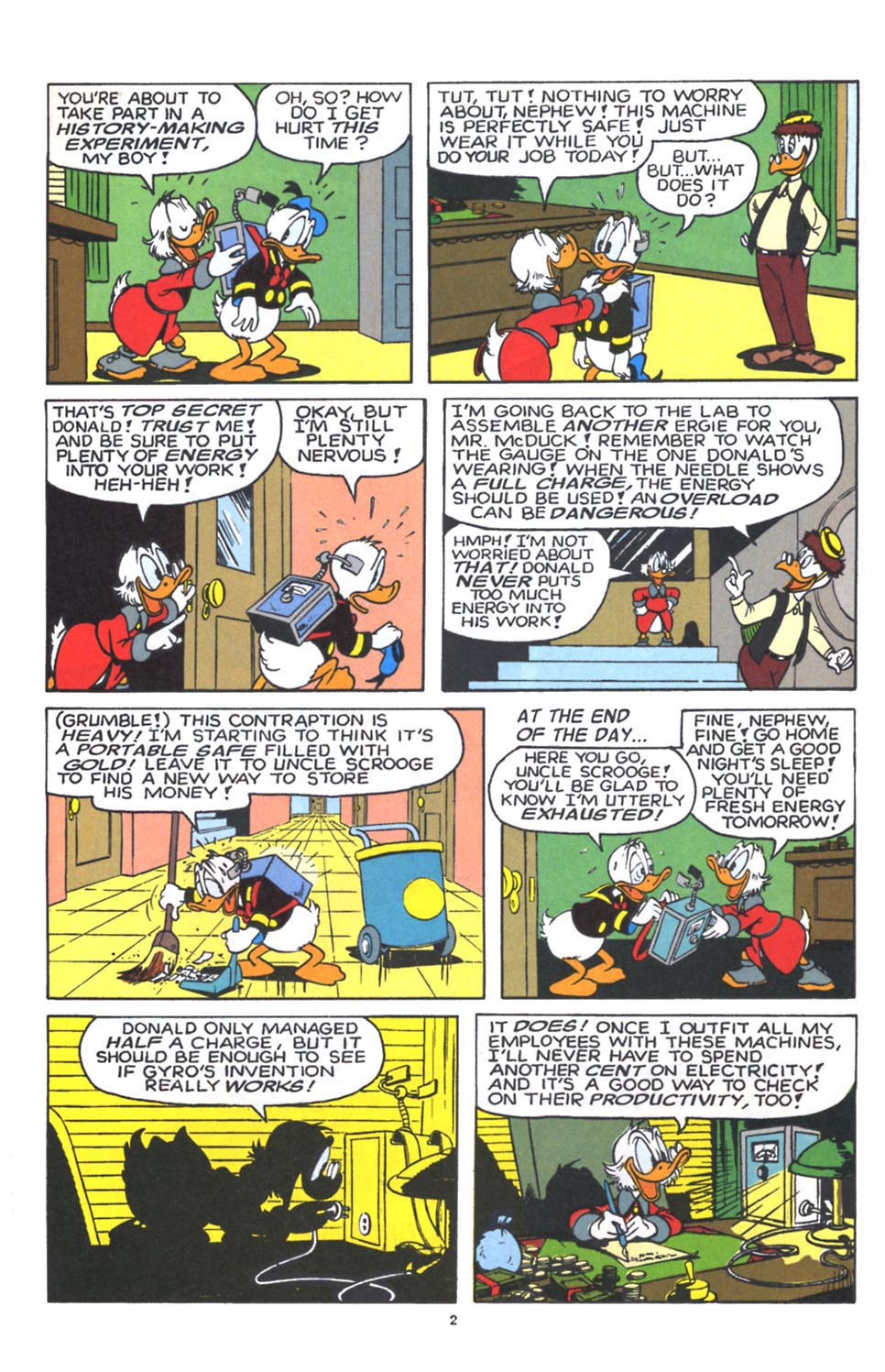 Uncle Scrooge (1953) Issue #250 #250 - English 40