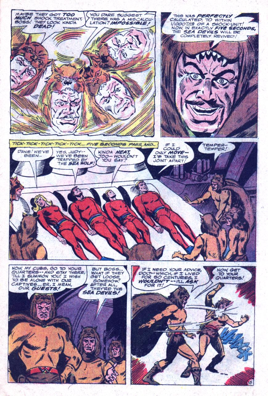 Read online Sea Devils comic -  Issue #33 - 22