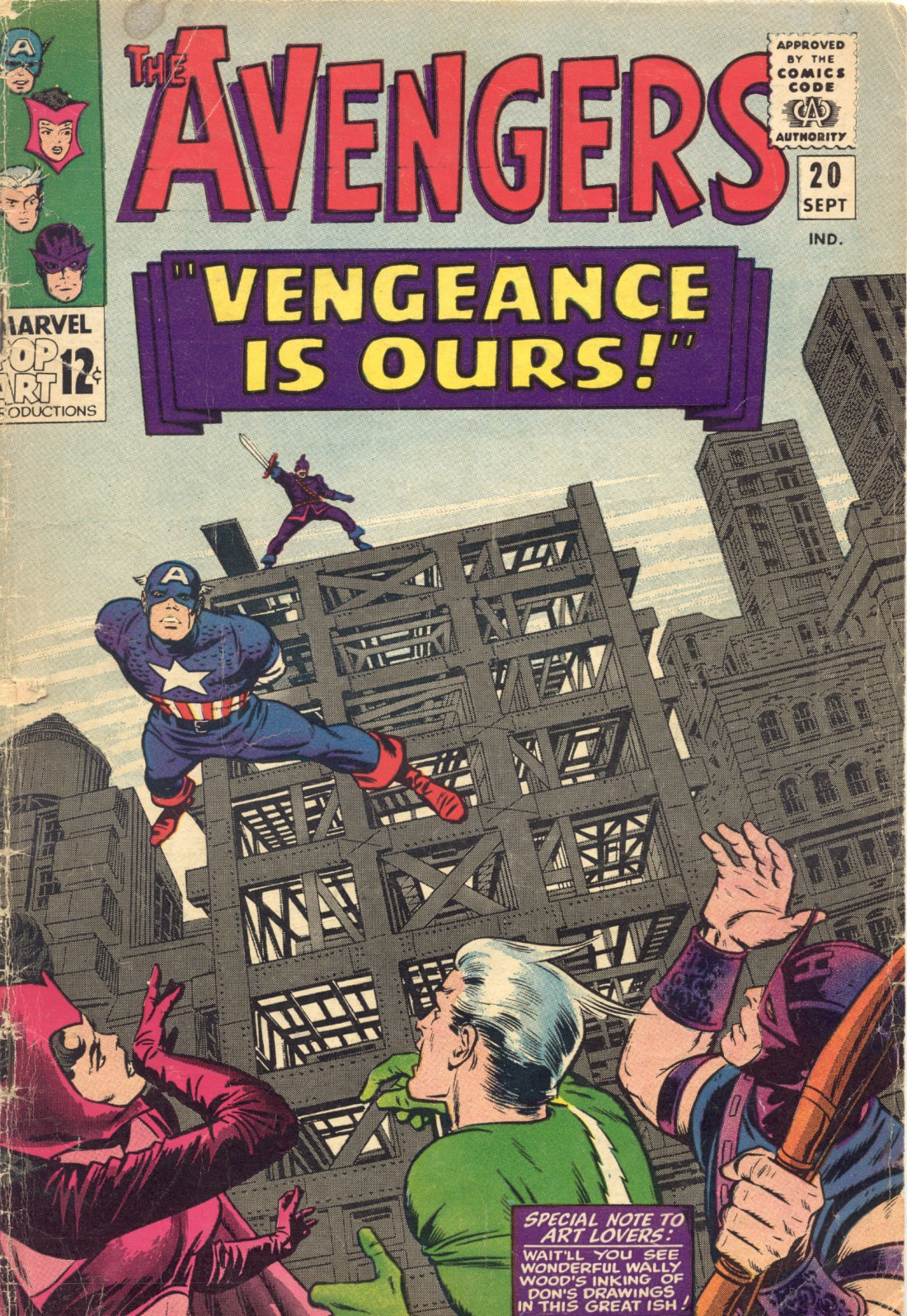 The Avengers (1963) 20 Page 1