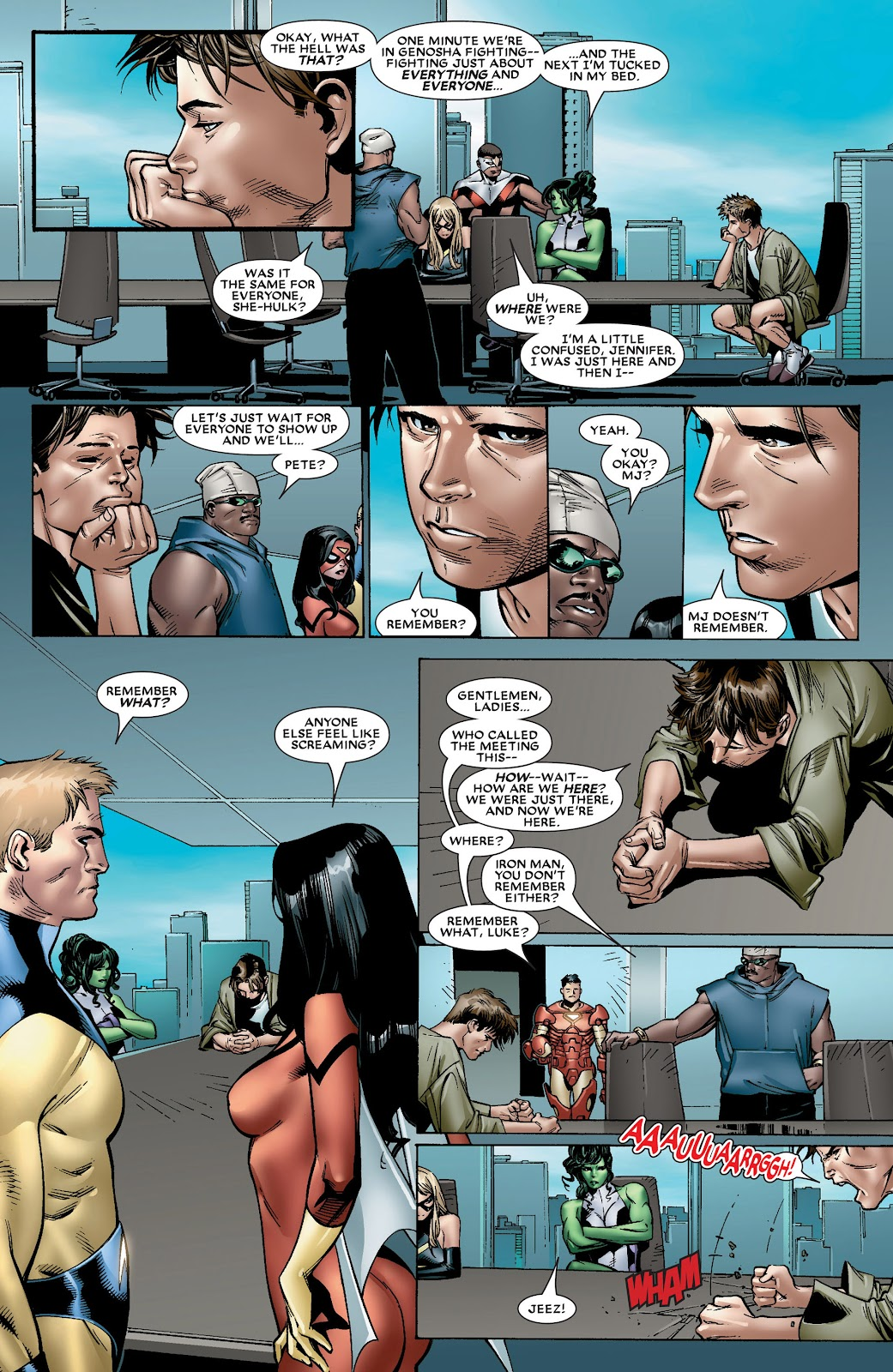 House of M (2005) Issue #8 #8 - English 6