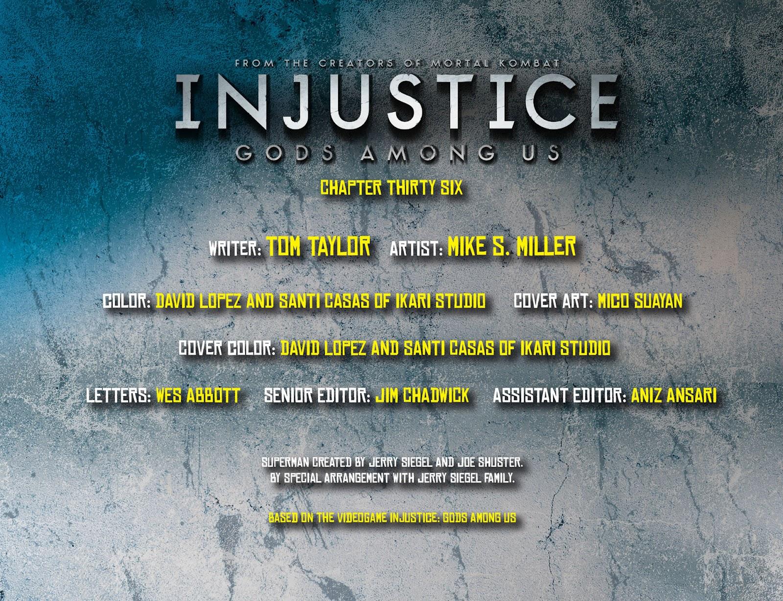 Injustice: Gods Among Us [I] Issue #36 #37 - English 2