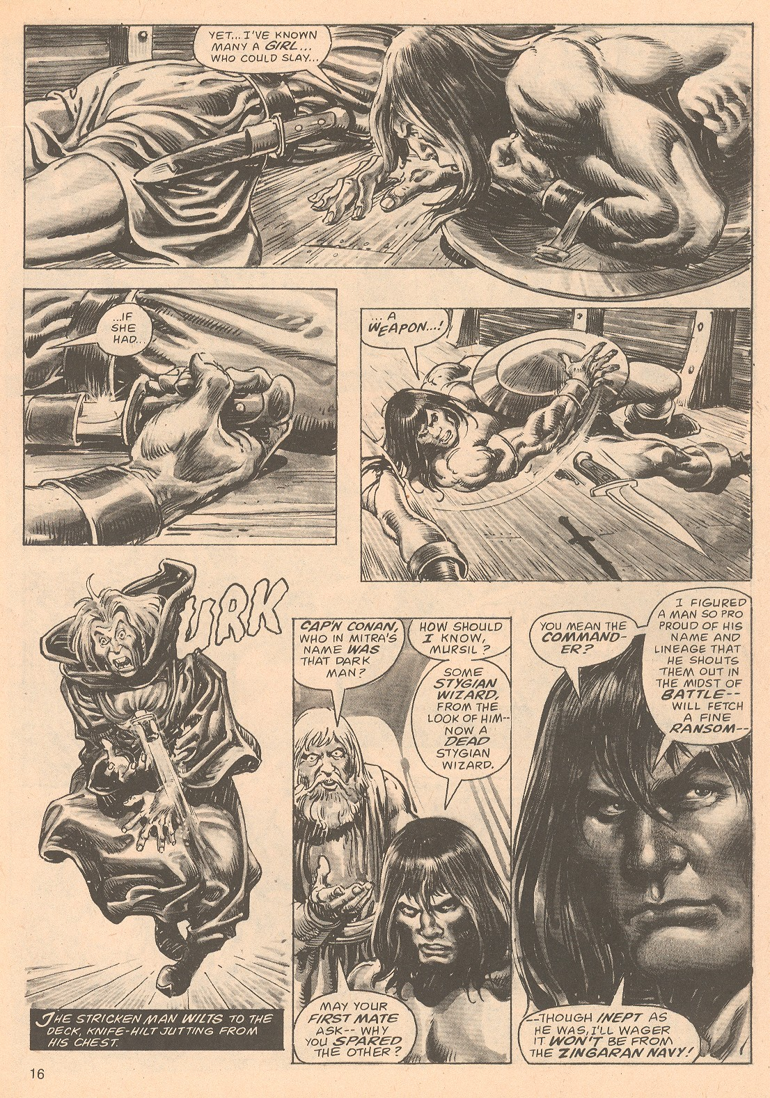 The Savage Sword Of Conan Issue #67 #68 - English 16