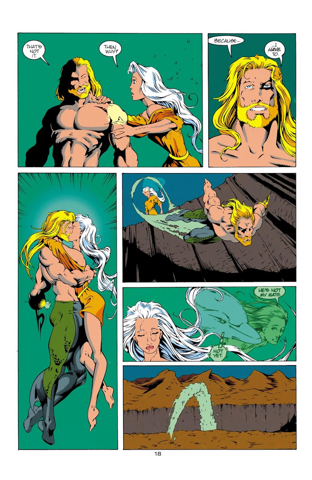 Aquaman (1994) Issue #12 #18 - English 19
