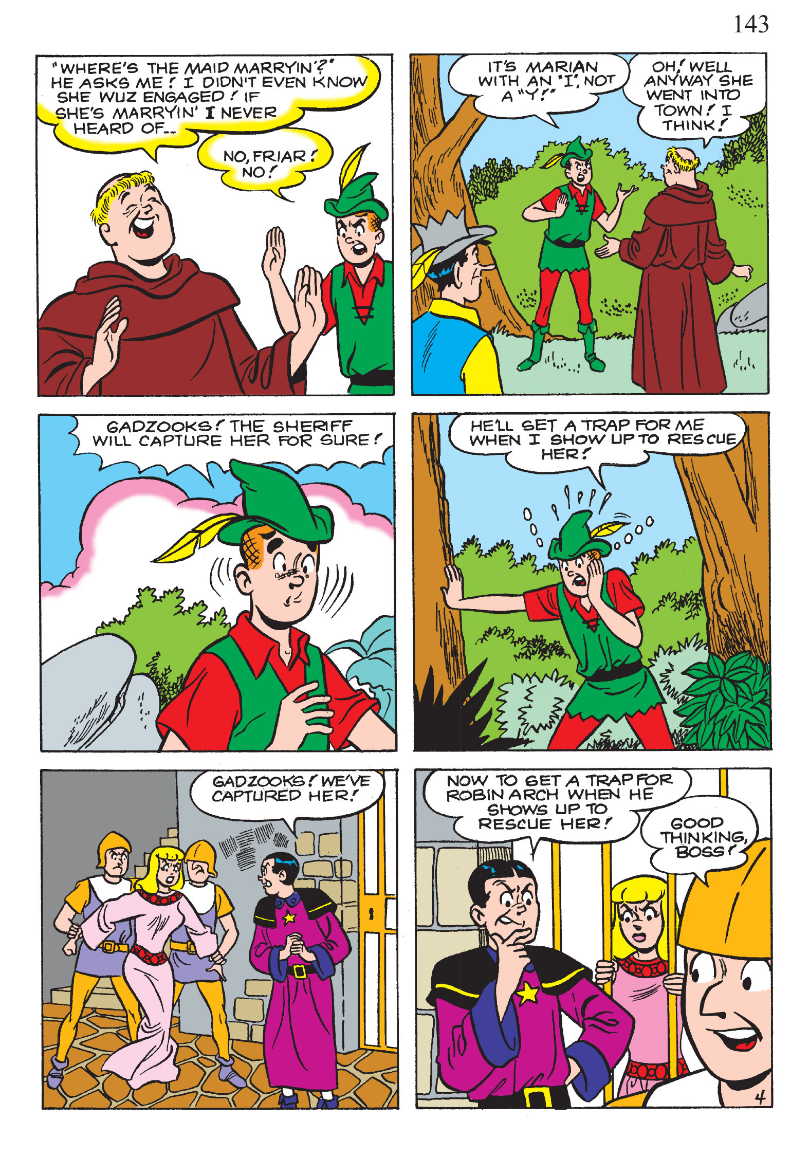 Read online The Best of Archie Comics comic -  Issue # TPB 2 (Part 1) - 145