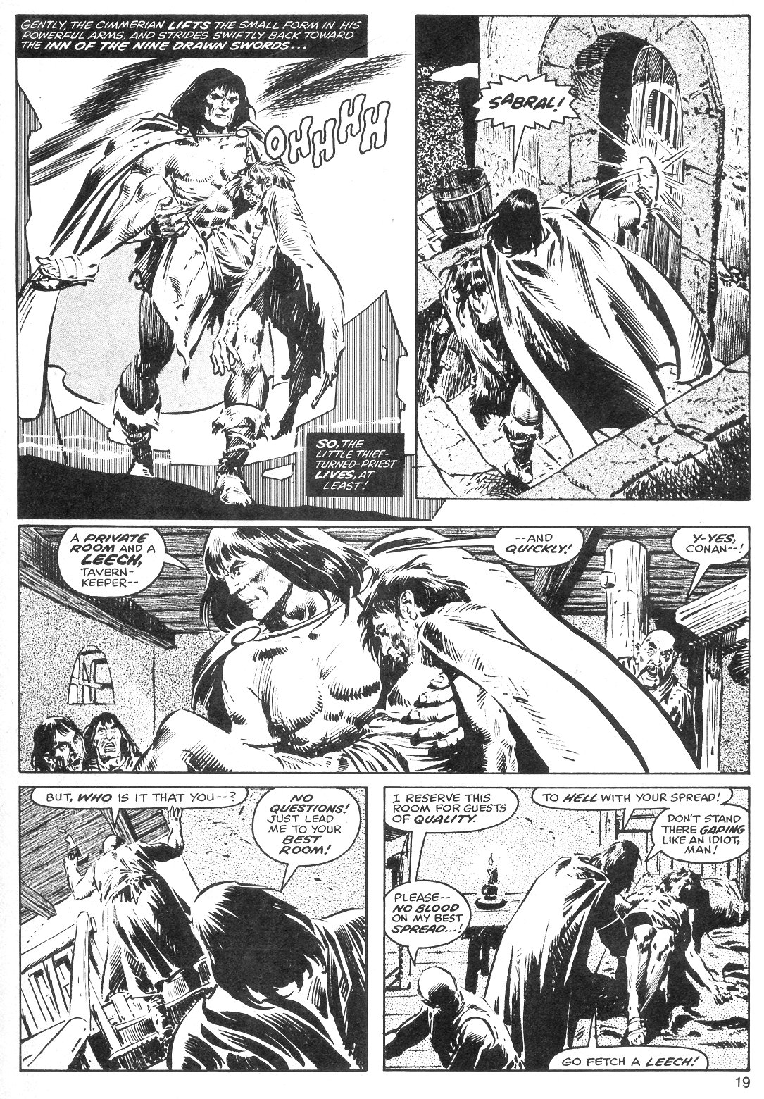 The Savage Sword Of Conan Issue #40 #41 - English 19