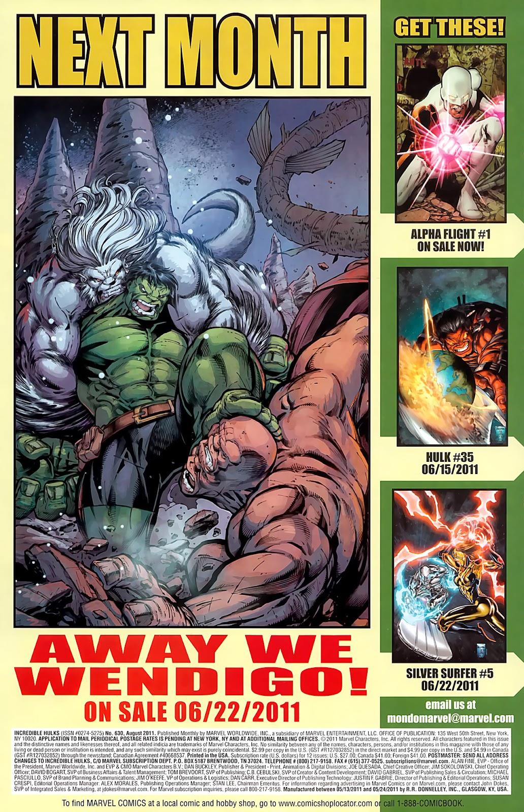 Incredible Hulks (2010) Issue #630 #20 - English 23