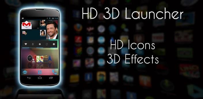 HD 3D Launcher PRO Apk v1.1.6