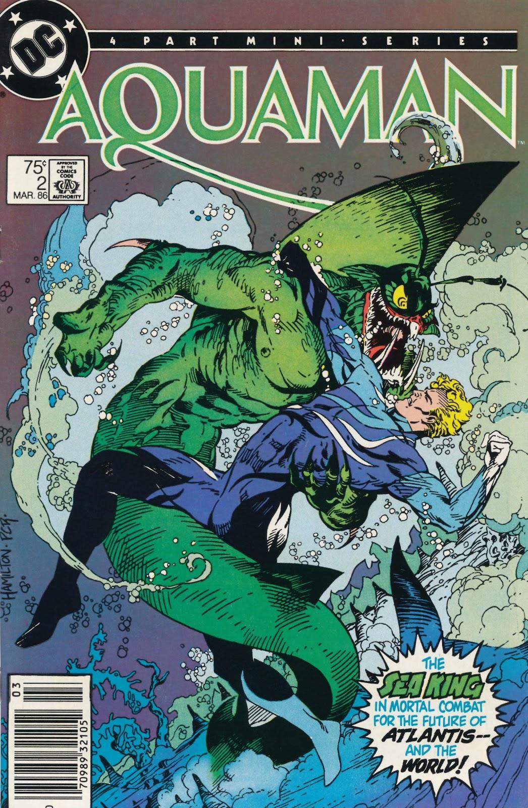 Aquaman (1986) Issue #2 #2 - English 1