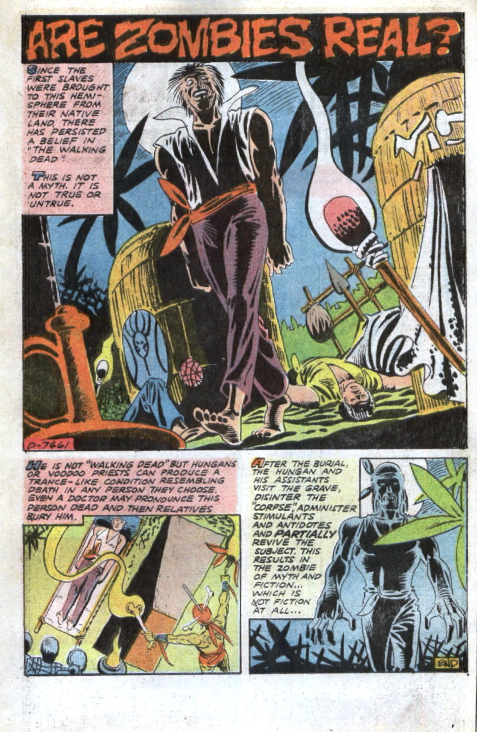 Read online Scary Tales comic -  Issue #32 - 21