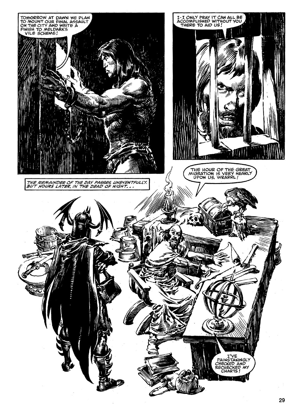 The Savage Sword Of Conan Issue #90 #91 - English 28