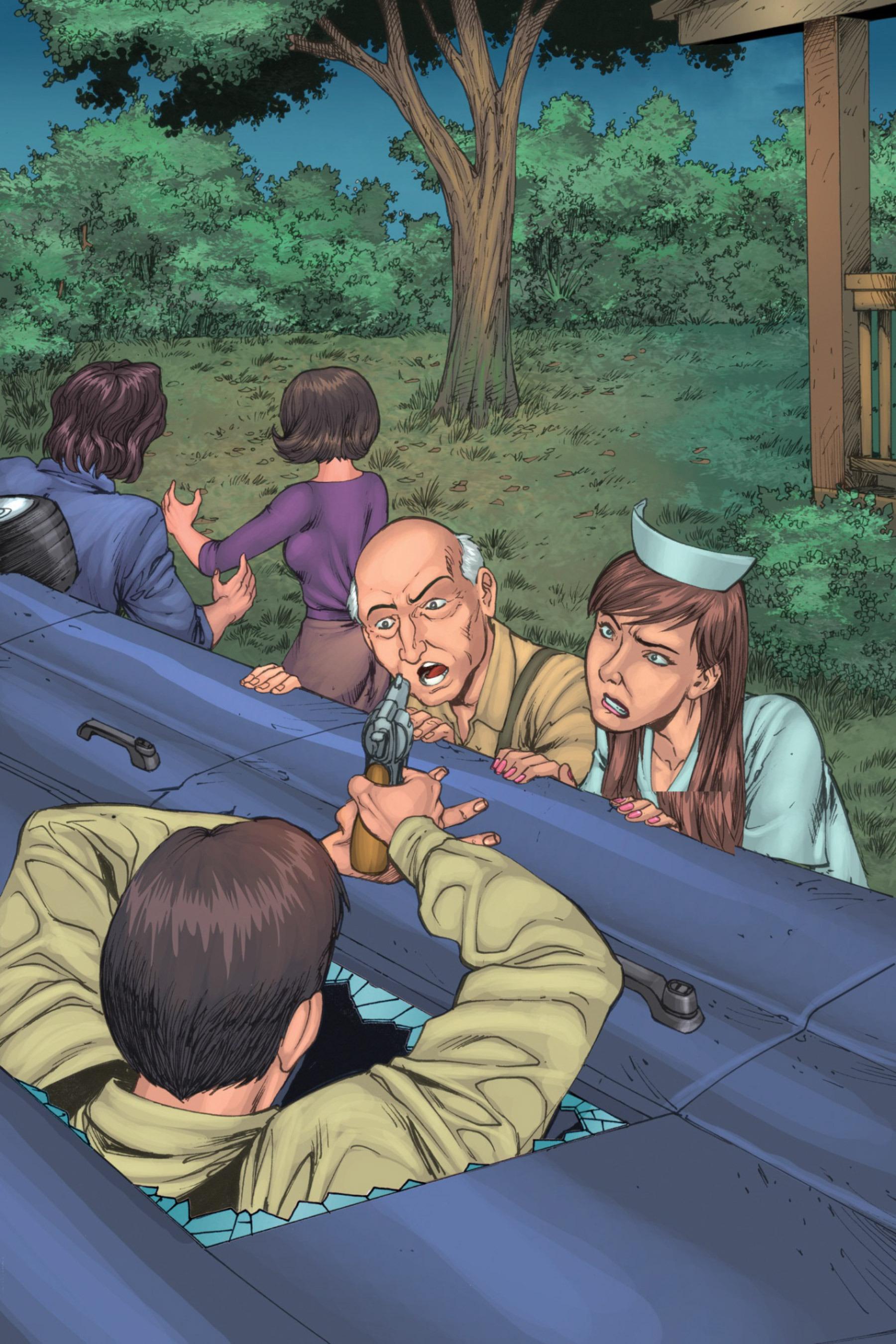 Read online Z-Men comic -  Issue #3 - 124