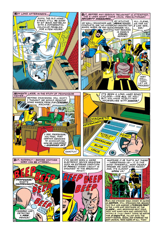 Uncanny X-Men (1963) 11 Page 20