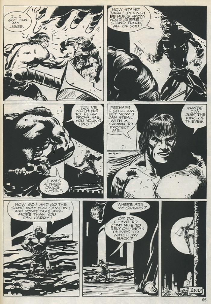 The Savage Sword Of Conan Issue #131 #132 - English 65