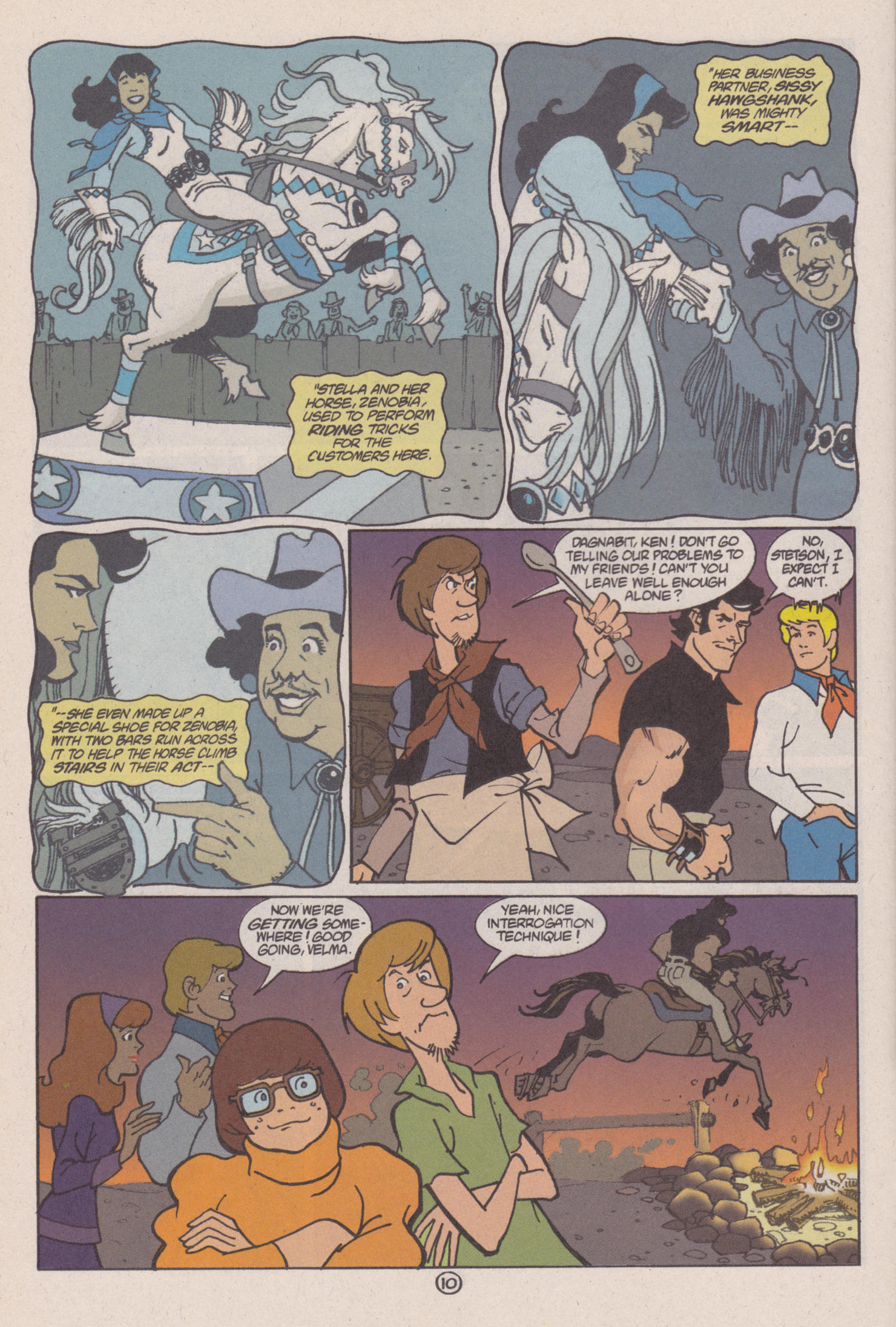 Read online Scooby-Doo (1997) comic -  Issue #6 - 11