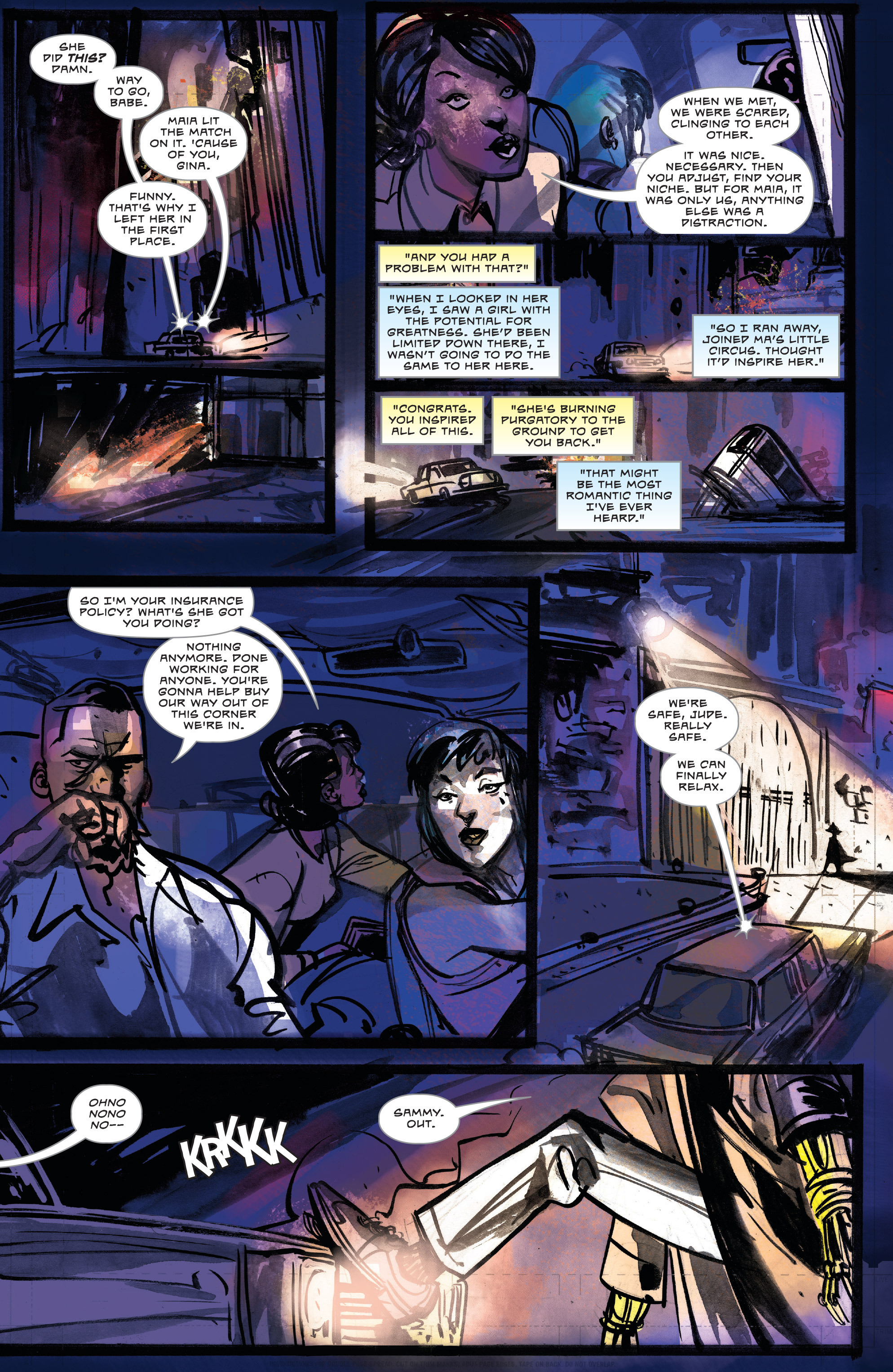 Read online Dead Letters comic -  Issue #11 - 11