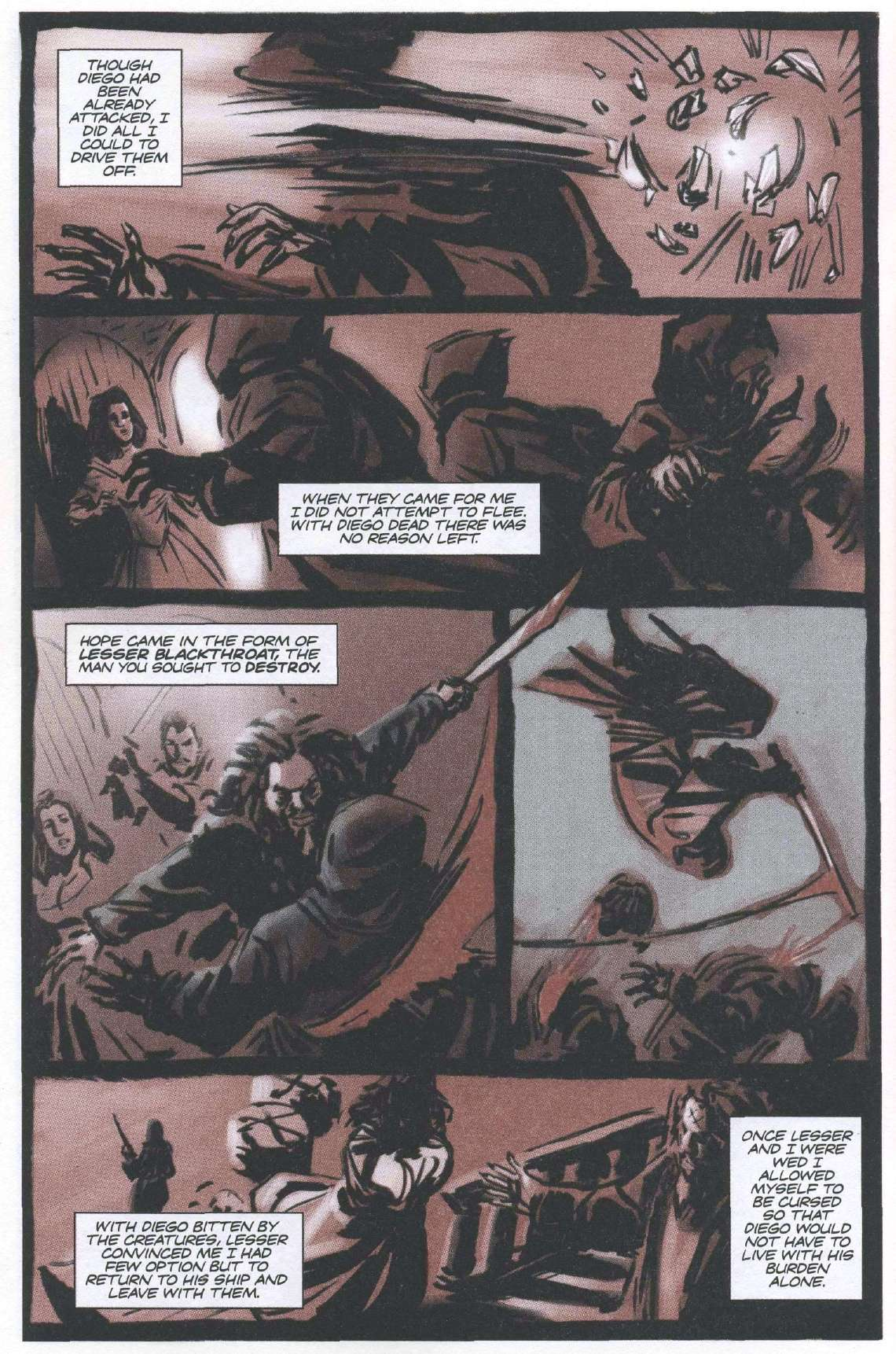 Read online Sea of Red comic -  Issue #6 - 23