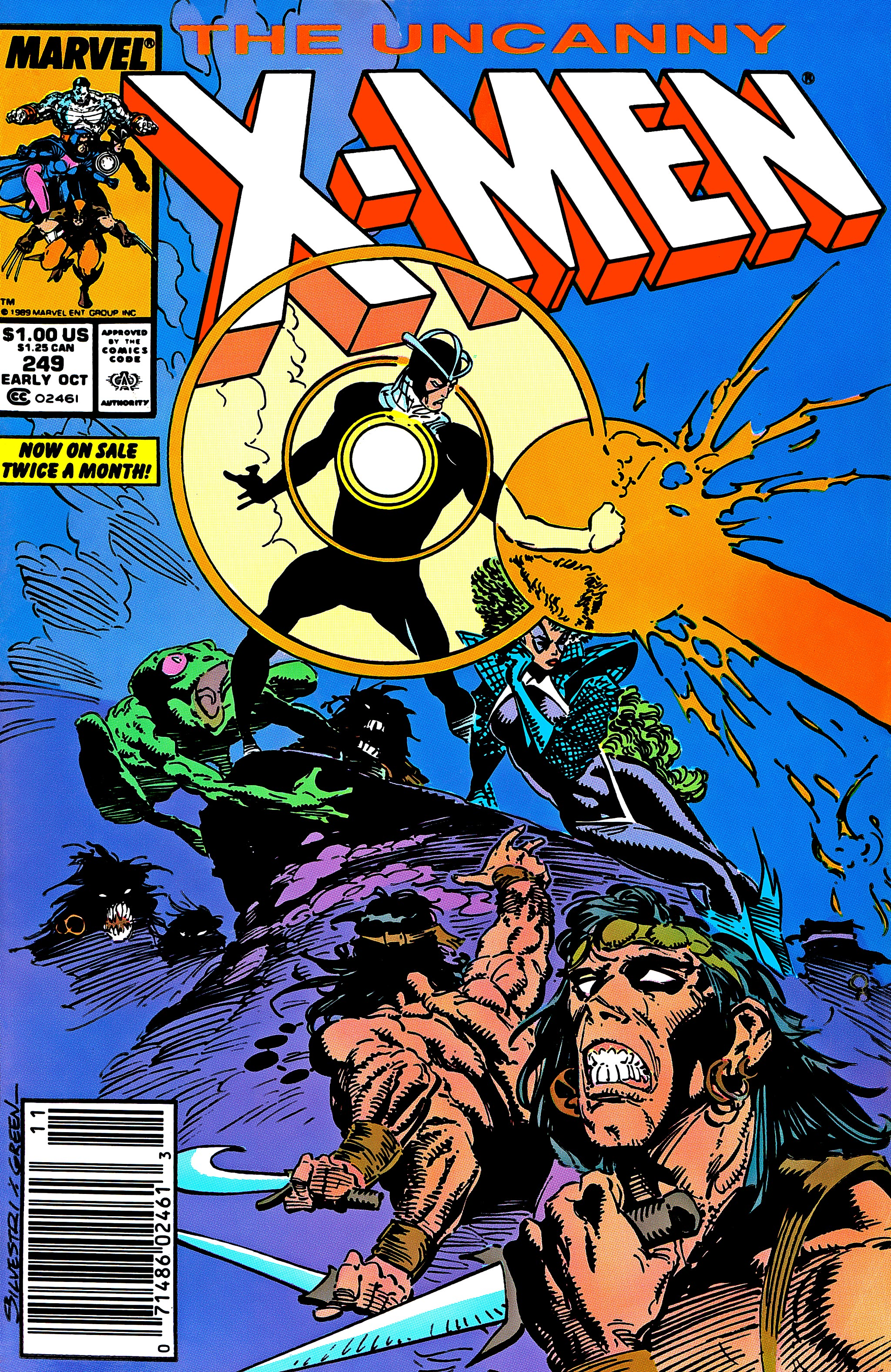Uncanny X-Men (1963) 249 Page 1