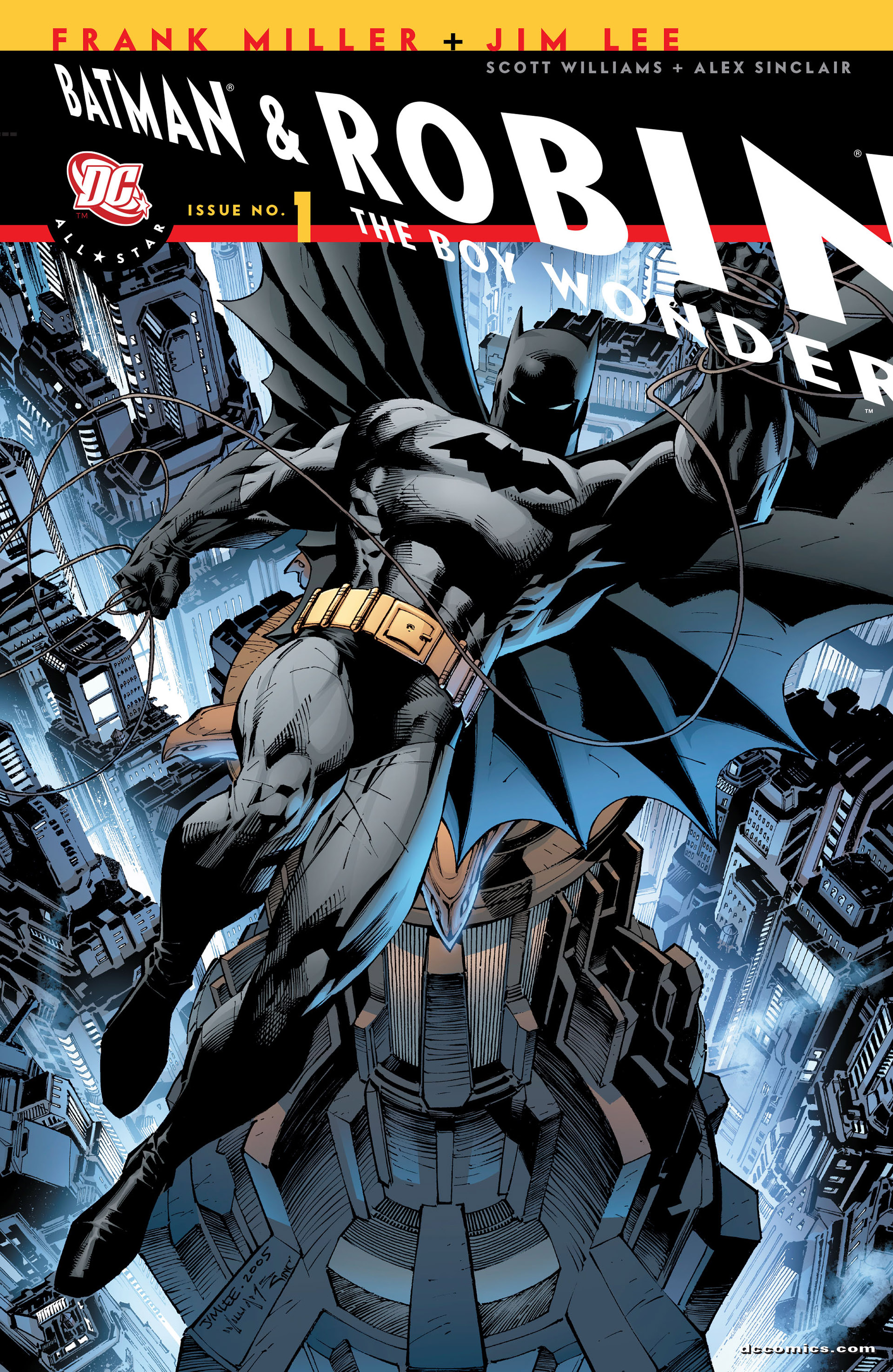 All Star Batman & Robin, The Boy Wonder 1 Page 1