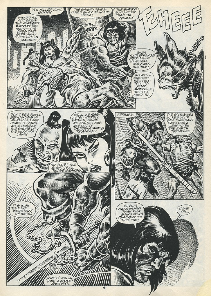 The Savage Sword Of Conan Issue #193 #194 - English 8