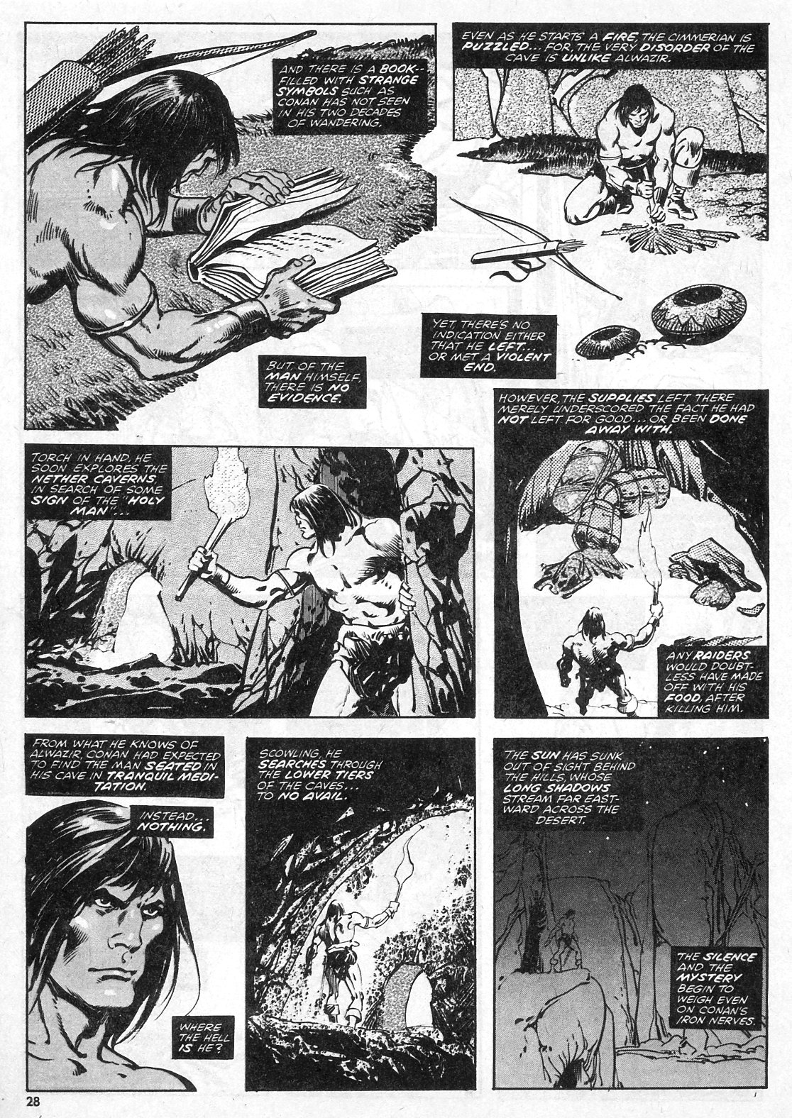 The Savage Sword Of Conan Issue #28 #29 - English 28