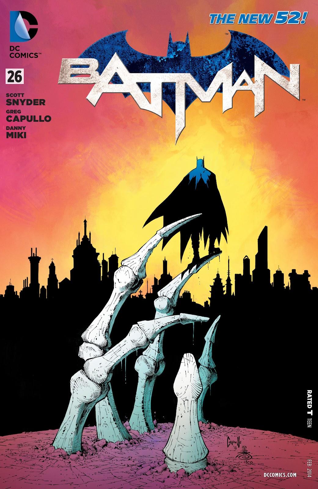 Batman (2011) Issue #26 #45 - English 1