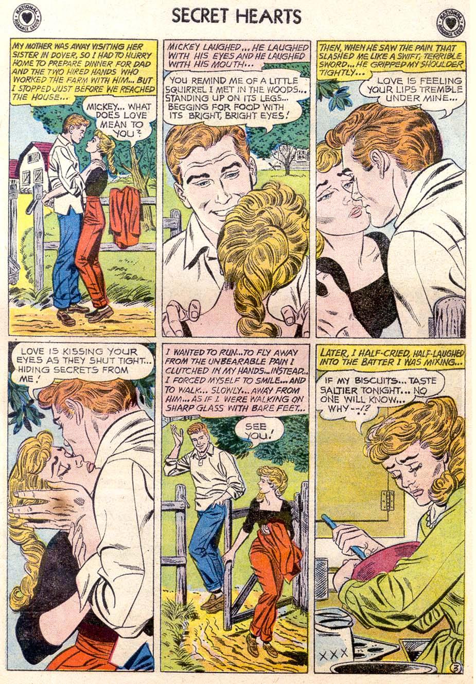 Read online Secret Hearts comic -  Issue #65 - 28