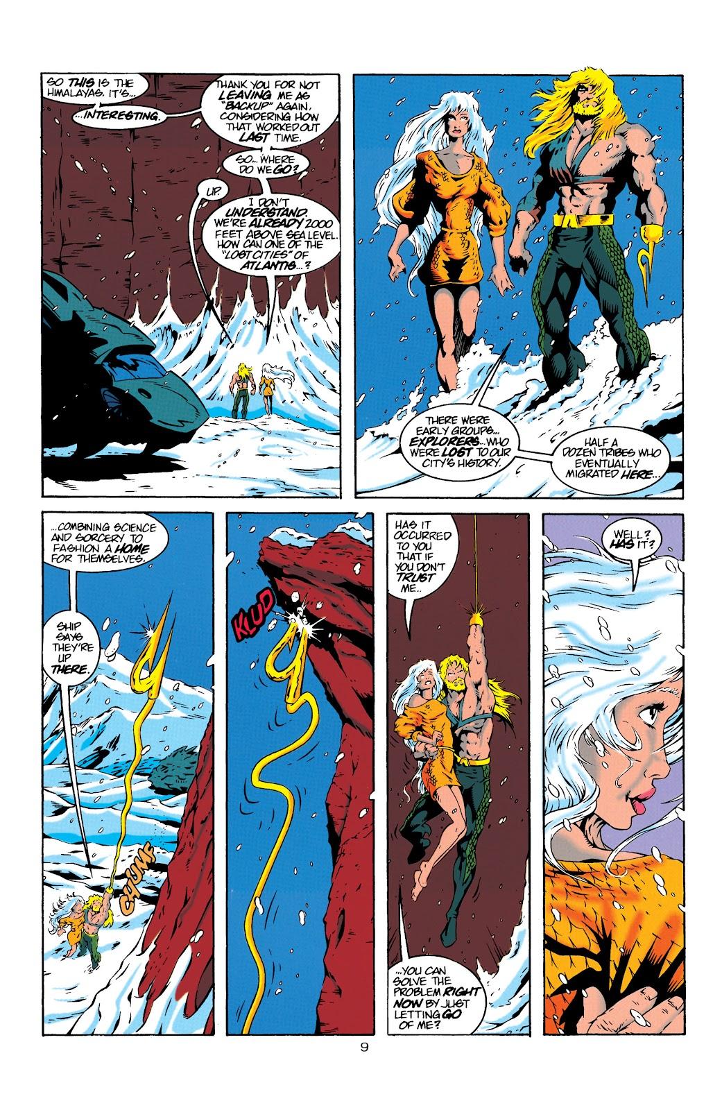 Aquaman (1994) Issue #19 #25 - English 9