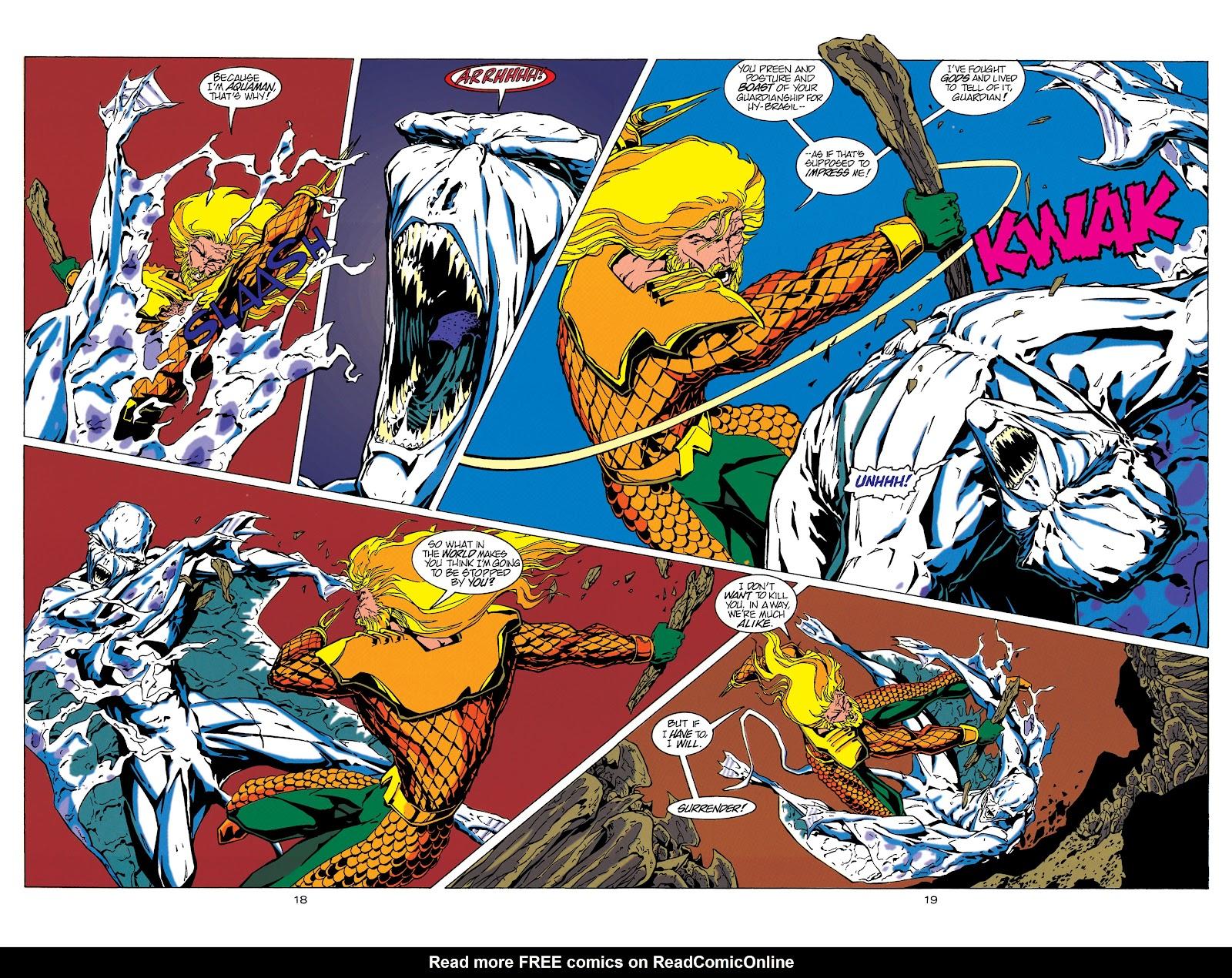 Aquaman (1994) Issue #17 #23 - English 19