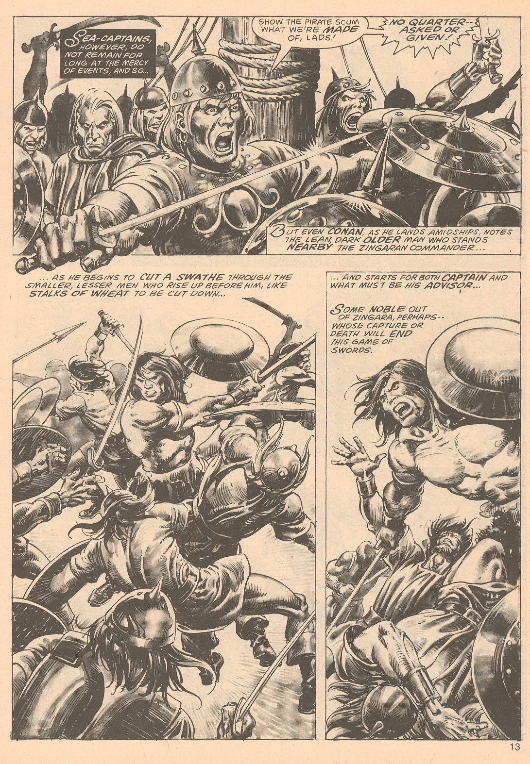The Savage Sword Of Conan Issue #67 #68 - English 13