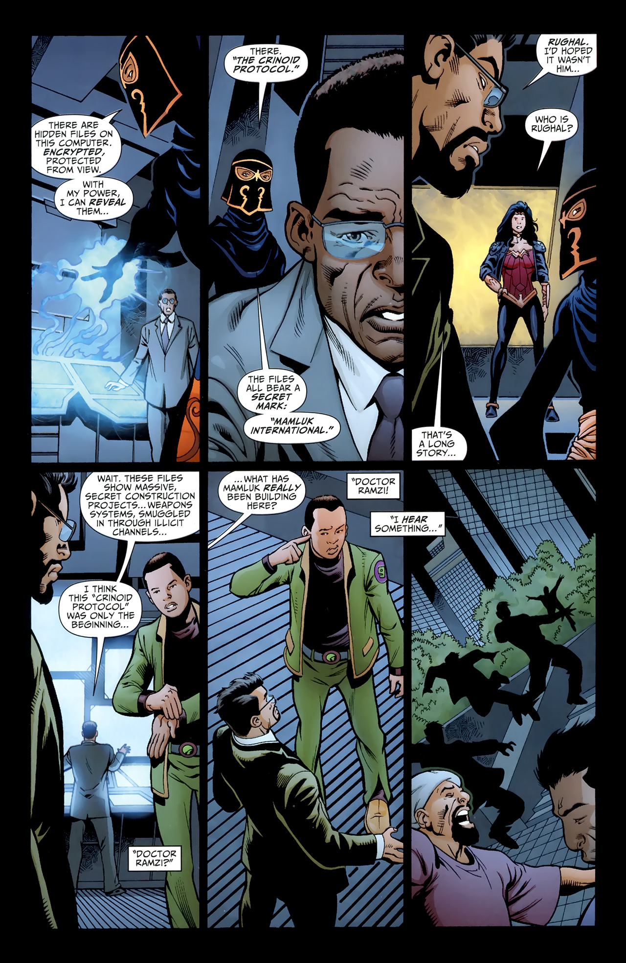 Read online Justice League of America/The 99 comic -  Issue #4 - 9